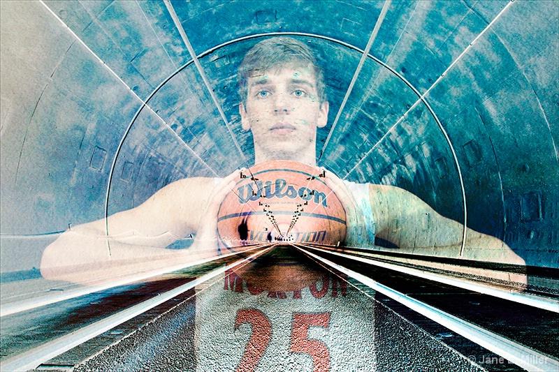 Zach's Blue Tunnel Vision