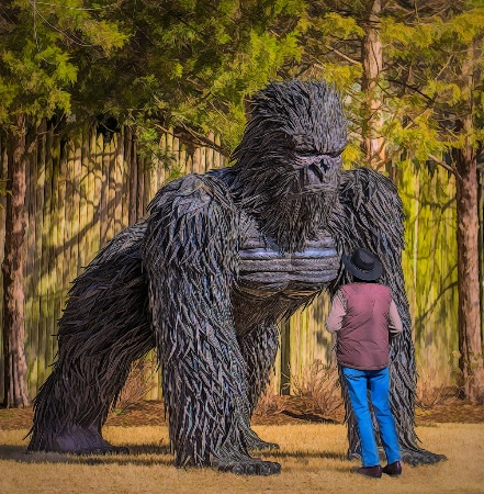 Man vs King Kong