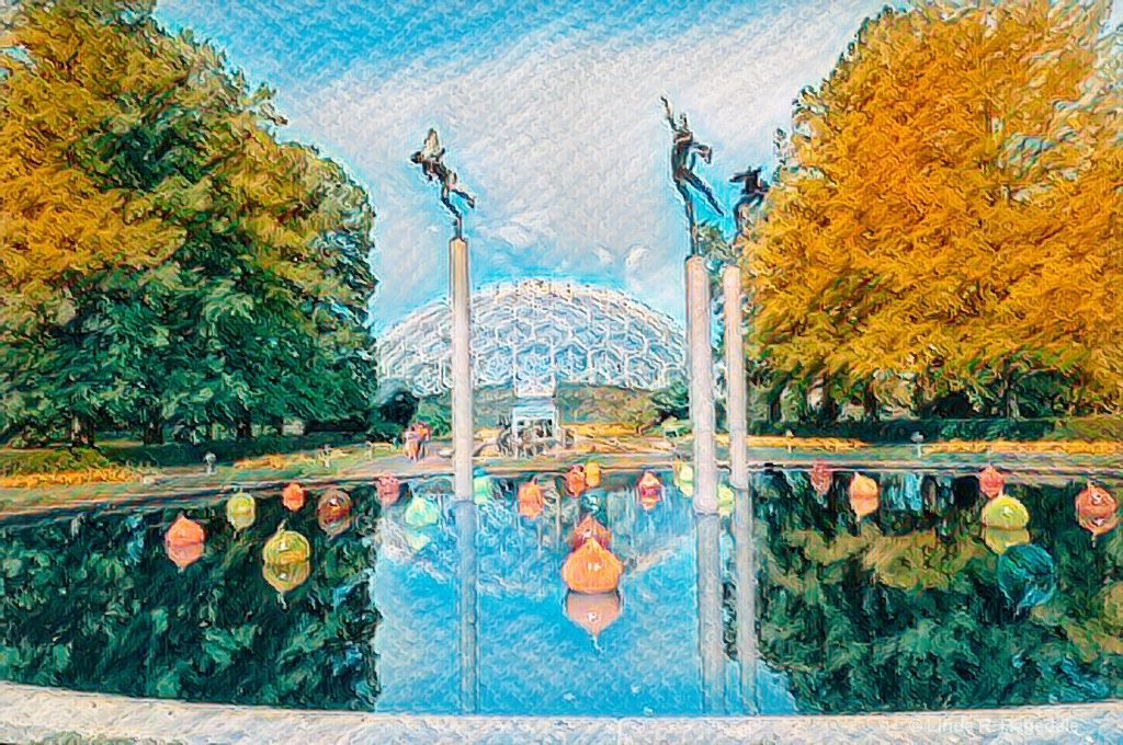 Missouri Botanical Garden remix - ID: 15545860 © Linda R. Ragsdale