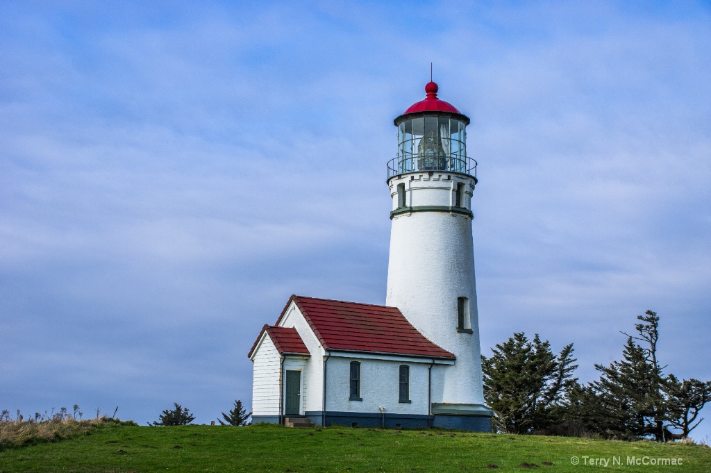 Cape Blanco Lighthouse - ID: 15547421 © TERRY N. MCCORMAC