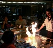 Chef on fire.....