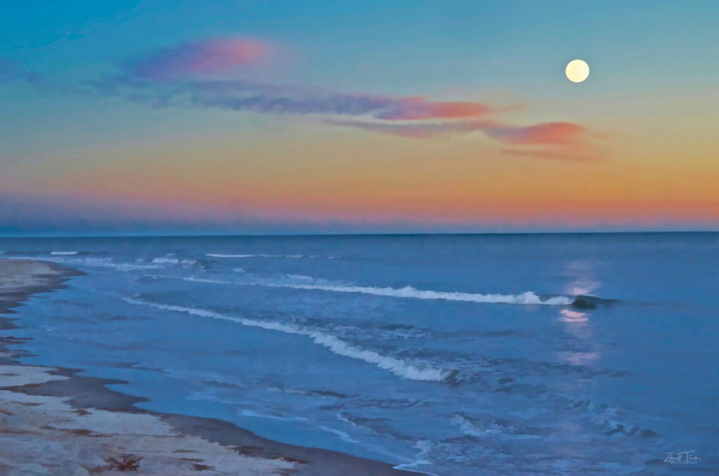 Full Moon at Kiawah Island - ID: 15586460 © Zelia F. Frick