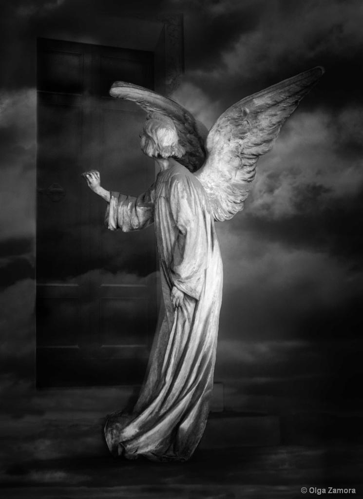 Angel at My Door - ID: 15601434 © Olga Zamora