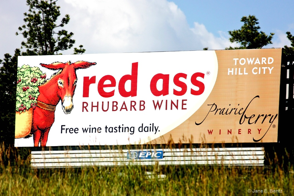 Wine Sign - ID: 15611344 © Jane E. Bentz