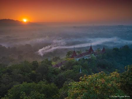 Sunrise Over Nature