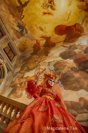 Venice Series - Person as Art