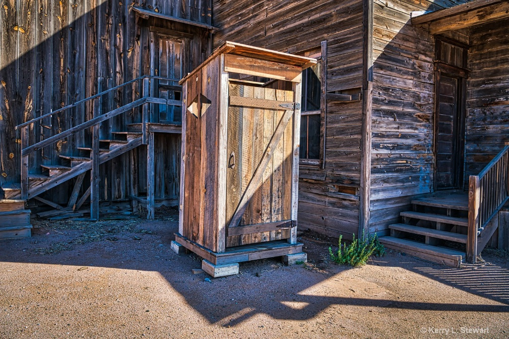 Bonanza Creek Outhouse - ID: 15620873 © Kerry L. Stewart