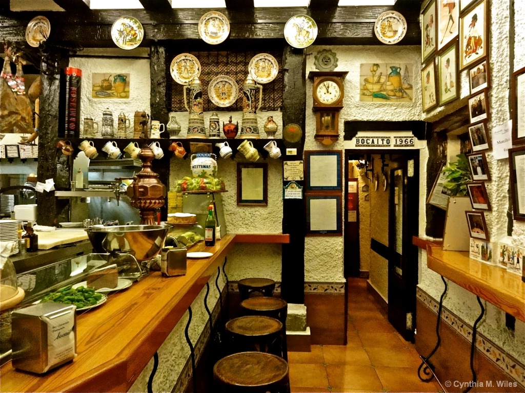 Going For Tapas in Madrid - ID: 15628623 © Cynthia M. Wiles