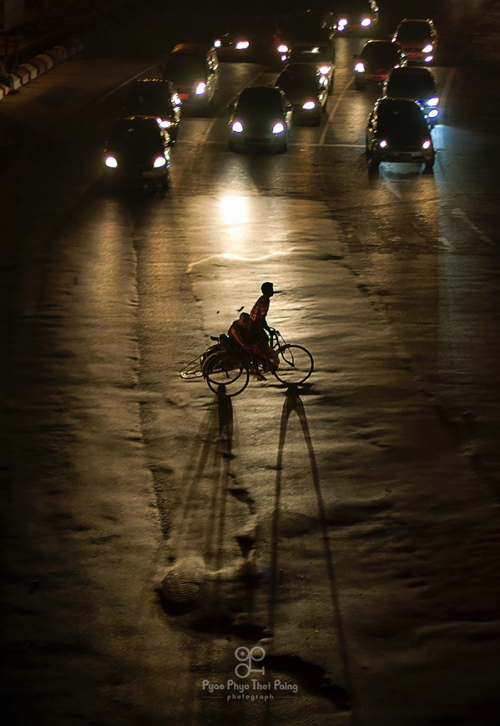 Shadow on the street