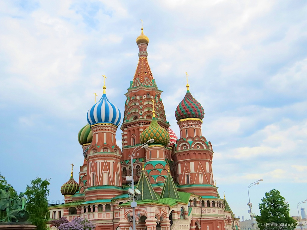Domes of St. Basil's Cathedral - ID: 15659080 © Emile Abbott