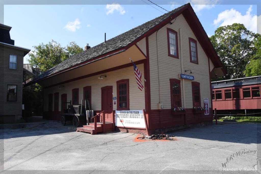 Contoocook Train Station - ID: 15668561 © Randall V. Rainey
