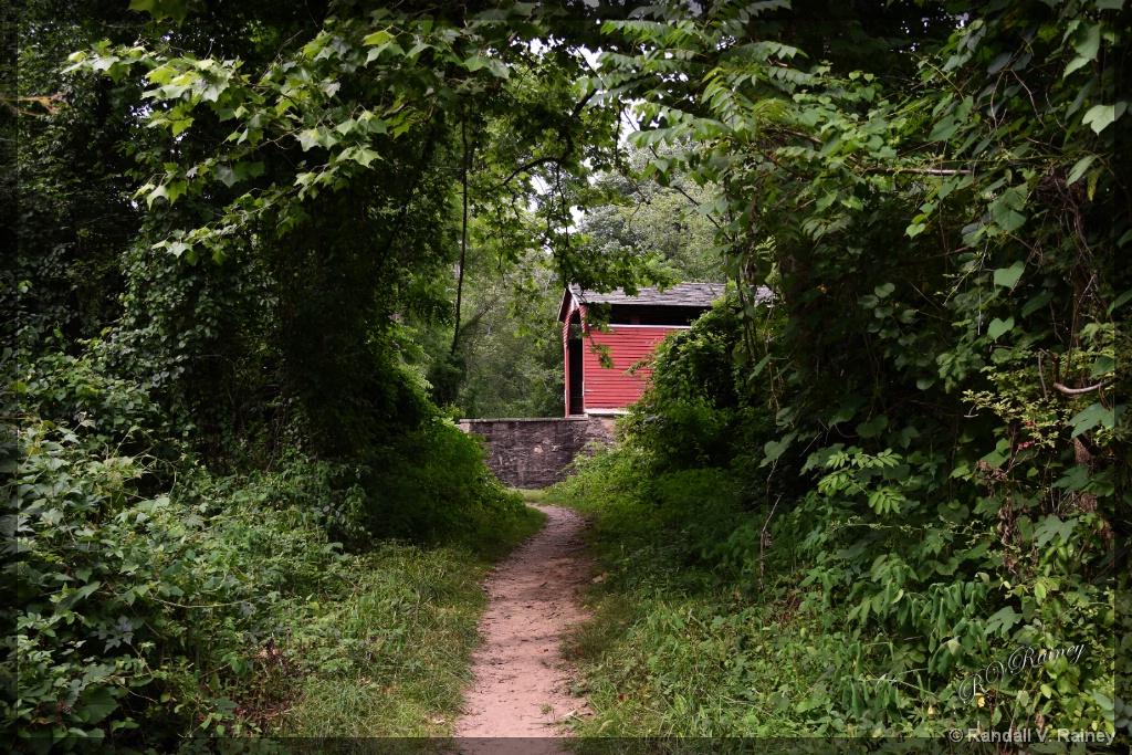 the Covered Bridge Pathway - ID: 15673224 © Randall V. Rainey