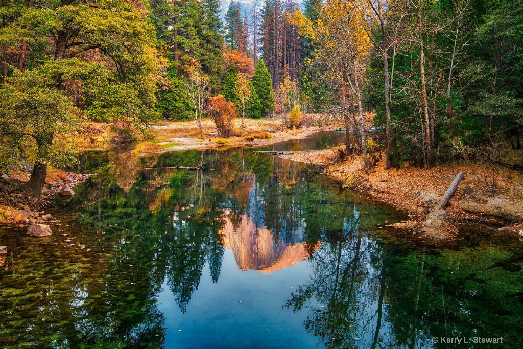 Half Dome Reflections - ID: 15673620 © Kerry L. Stewart