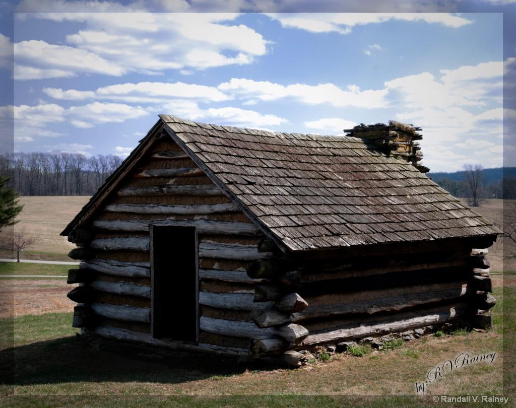 Battlefield One Room Cabin . . . - ID: 15675988 © Randall V. Rainey