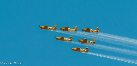 Climbing in Formation