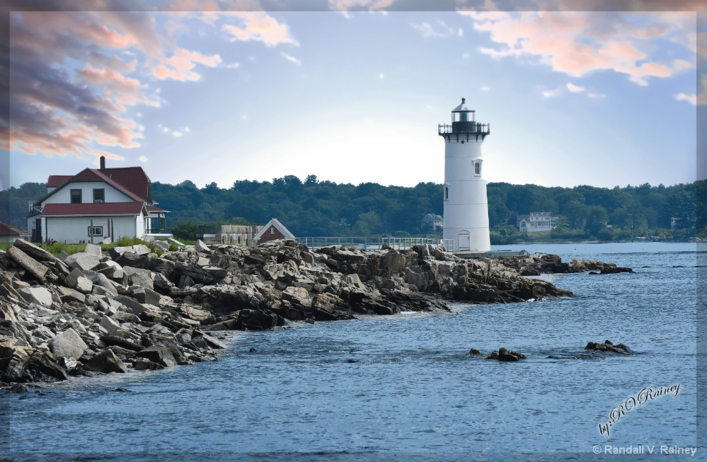 New Hampshire Lighthouse 4 - ID: 15677970 © Randall V. Rainey