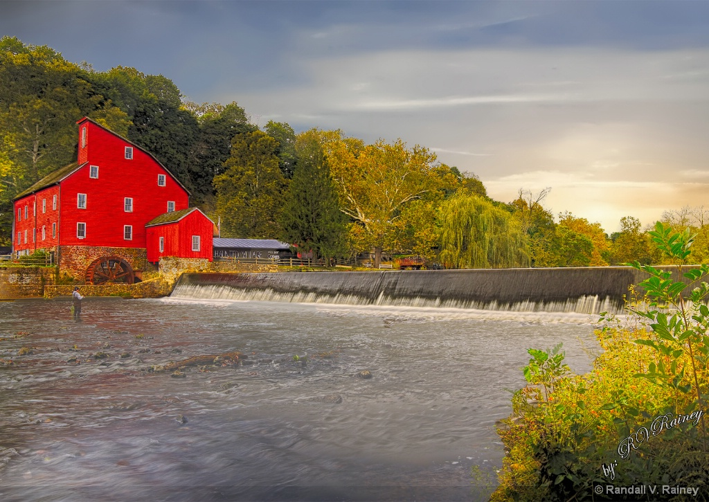 The Red Grist Mill . . . - ID: 15679122 © Randall V. Rainey
