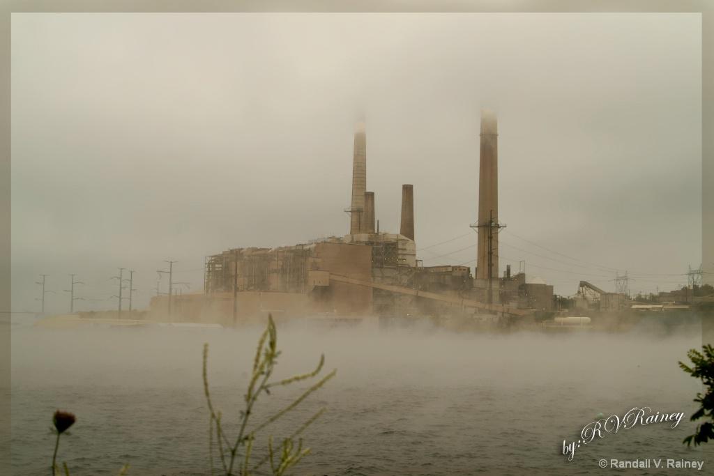 W. Virginia Coal Power Plant in the Fog - ID: 15686000 © Randall V. Rainey