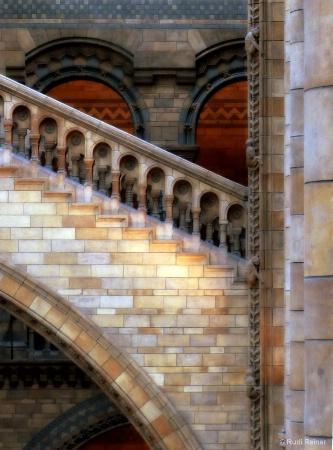 Interior arches, London