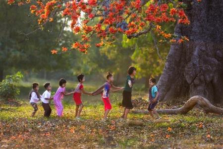 Love the children Love the nature