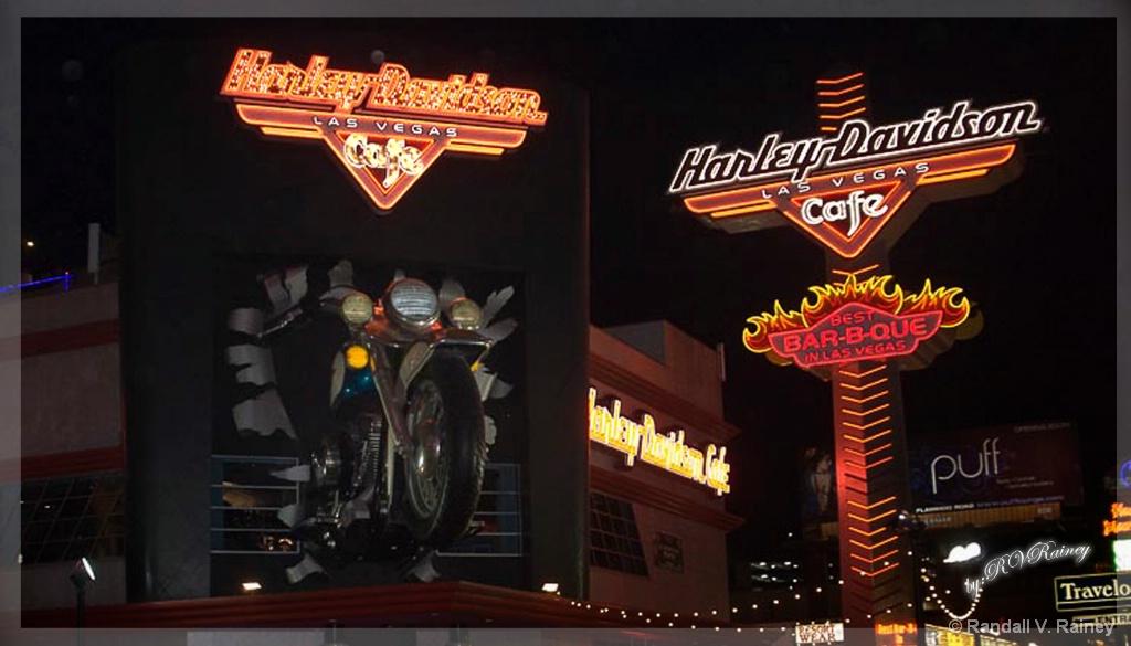 Harley Davidson at Las Vegas... - ID: 15692942 © Randall V. Rainey