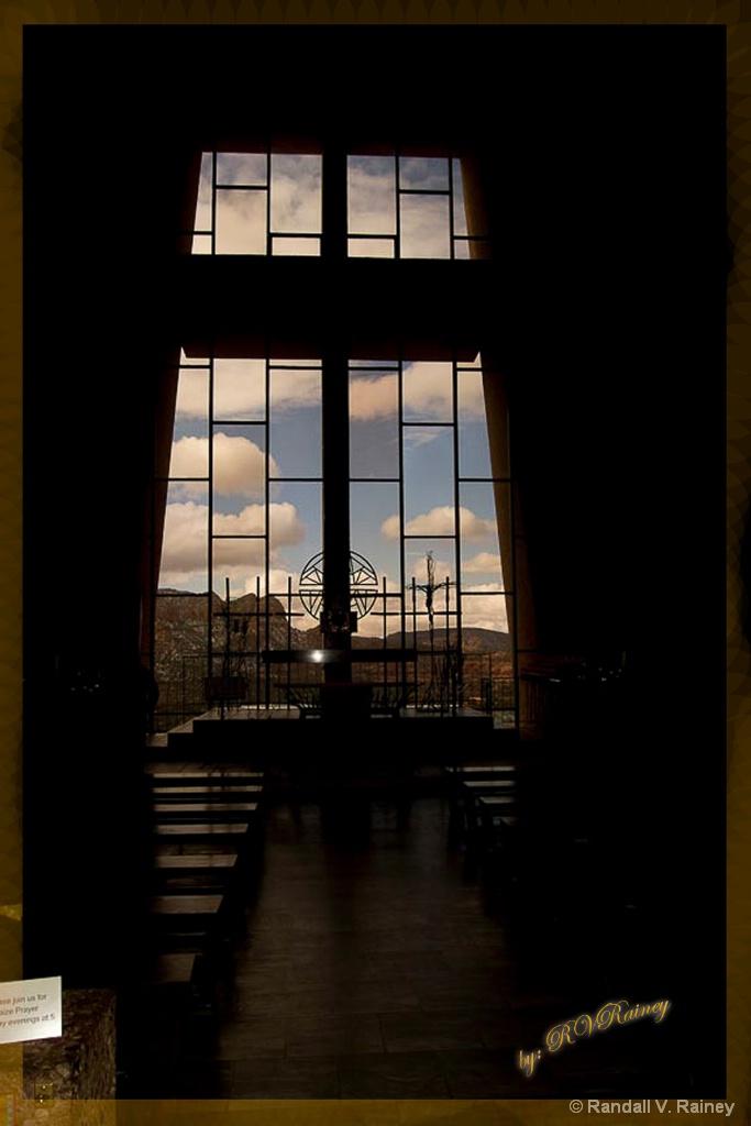 Sadona Church Interior - ID: 15696061 © Randall V. Rainey
