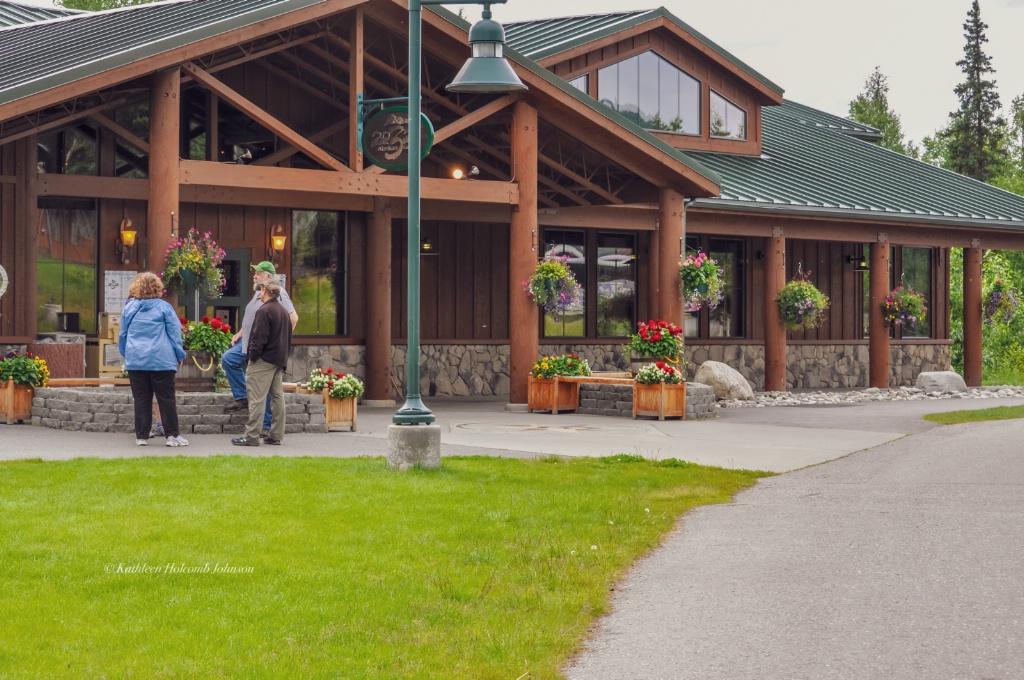 MT. McKinley Princess Wilderness Lodge - ID: 15701265 © Kathleen Holcomb Johnson