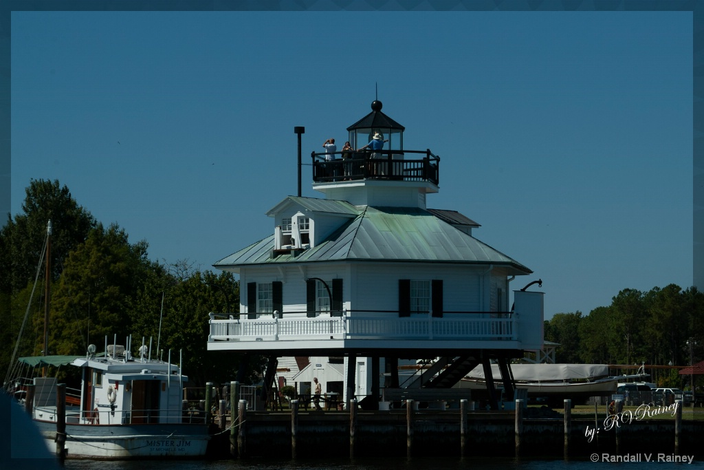 Hooper Island Lighthouse - ID: 15702370 © Randall V. Rainey