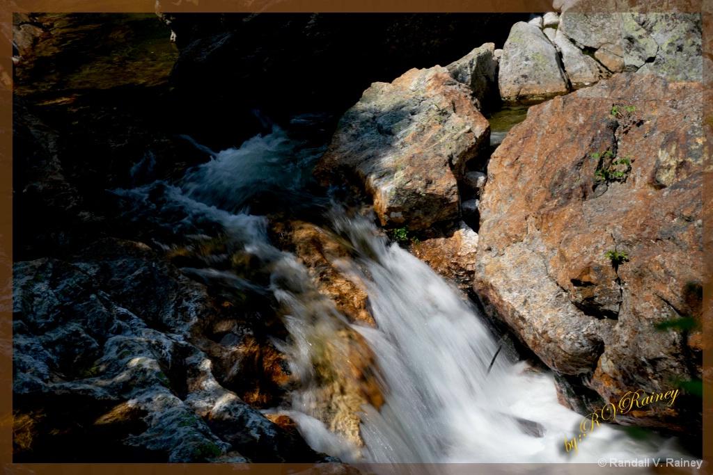 Rushing Water . . . - ID: 15705501 © Randall V. Rainey
