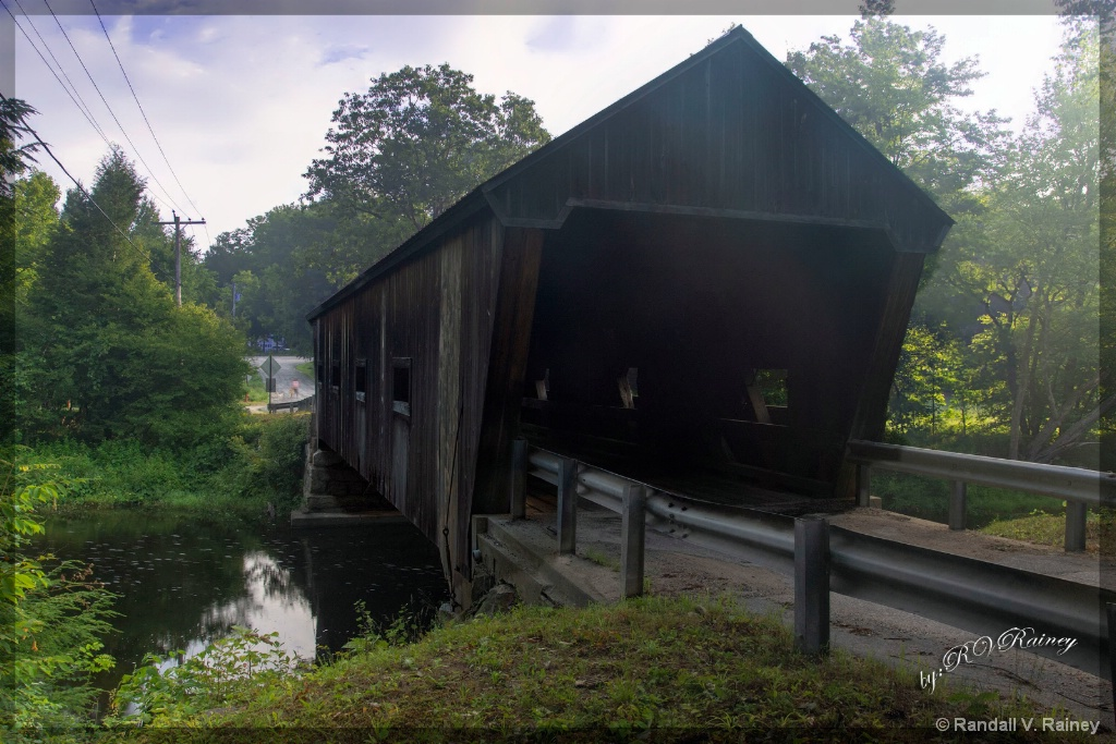 N.H. Covered Bridge  - ID: 15705905 © Randall V. Rainey