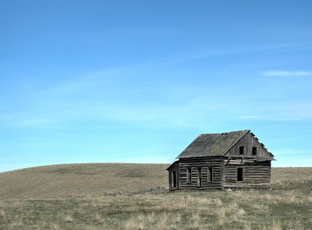 Old Schoolhouse on the Plain