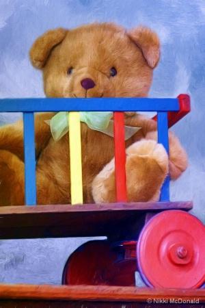 Teddy and Wagon